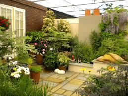 patio and backyard design with small garden backyard garden design