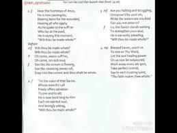 2017 70 days fasting and prayer program hymns no 6