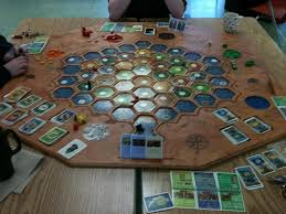 diy settlers of catan board boardgamegeek would be impossible