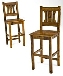 barn wood bar stool rustic pub stool reclaimed wood cabin