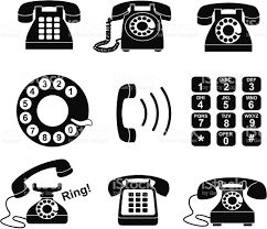 Telephone Icon For Business Card Telephone Icons Stock Vector Art 165645550 Istock