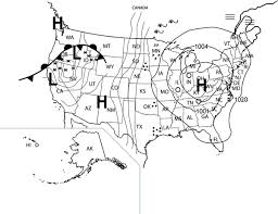 weather map symbols worksheet free worksheets library download