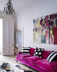 fuschia chandelier take a tour of this georgian with a modern twist home in