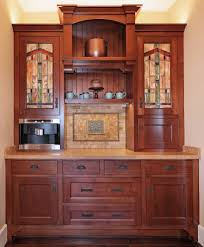 Mission Style Kitchen Island by Craftsman Style Cabinets Kitchen Craftsman With Ceiling Lighting