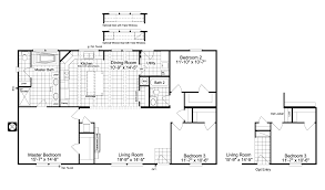 the arlington ml30523a manufactured home floor plan or modular