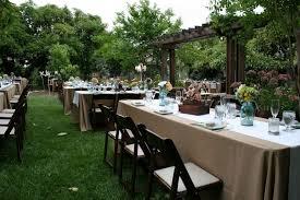 Small Backyard Wedding Ideas Outdoor Wedding Reception Ideas On A Budget Amys Office