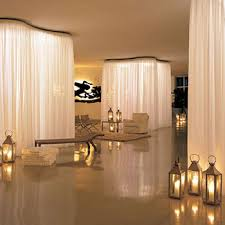 Hotel Drapery Rods Using Curtain Rails To Create Room Dividers Curtain Fabric