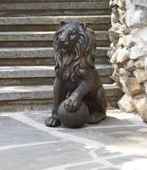 Home Decor Statues Lion Statue Home Decor Home Designing Ideas