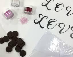 monogram cupcake toppers how to make chocolate monogram cupcake toppers 8 steps