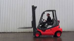 linde h20t 2000kgs gas forklift truck lift height 5100mm youtube
