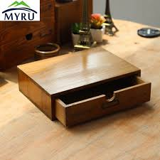Office Desk Drawers Wooden Small Drawer Storage Box Office Desk Household Bedside