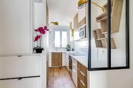 cuisine etroite des petites cuisines fonctionnelles et bien aménagées côté maison