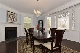 Dining Room With Wainscoting Traditional Dining Room With Chandelier Wainscoting In Saint