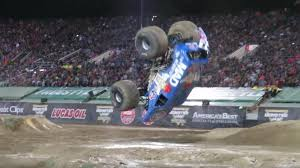 watch monster truck videos video watch a monster truck do a crazy front flip top gear