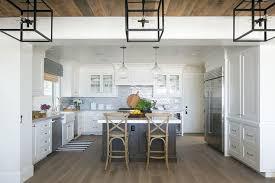 Brick Tile Backsplash Kitchen Blue Brick Tile Backsplash Cottage Kitchen