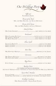 wedding ceremony programs wording wedding ceremony programs wording exles programs wedding