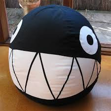 chain chomp bean bag looks uber cool