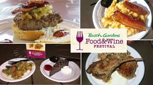 busch gardens food and wine food recipe