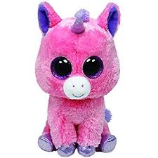 amazon ty beanie boos magic plush pink unicorn toys u0026 games