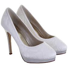 wedding shoes lewis buy rainbow club sydney satin lace court shoes ivory online at
