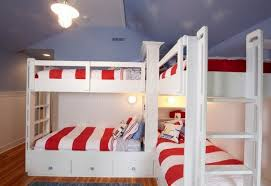 three bunk beds bunk beds optimal solution for large families space saving