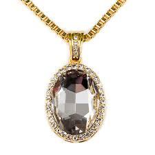 aliexpress buy nyuk new fashion american style gold aliexpress buy nyuk fashion hip hop transparent gem pendant