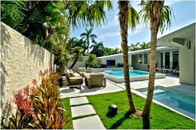 Tropical Backyard Ideas Backyard Tropical Backyard Stunning 30 Tropical House Design And