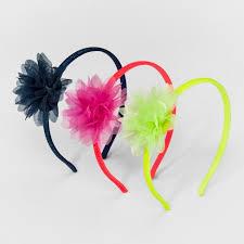 flower bow 3pk flower bow headbands cat target
