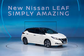 nissan leaf 2018 range up close with the 2018 nissan leaf the verge