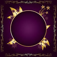 gold flower frame free vectors ui download