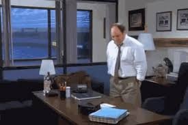 nap desk george costanza job gif find share on giphy