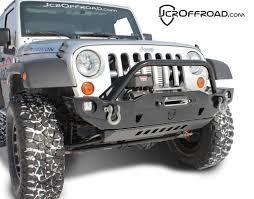 jeep bumper jk front bumper crusader jeep wrangler 07 17 jcroffroad