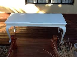 queen anne entry table 24 best painted vintage coffee tables side tables hall tables by jo