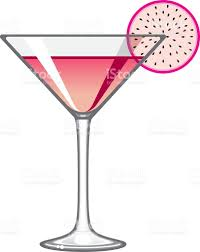 cosmopolitan drink classic cosmopolitan martini glass icon stock vector art 509489840