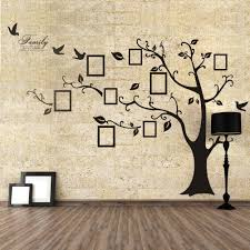 tree wall art decal igtos family tree wall decor amazoncom decal chestnut