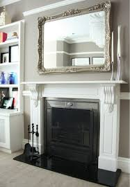 Decorations Tv Over Fireplace Ideas by Best 25 Mirror Above Fireplace Ideas On Pinterest Mirror Above