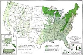 A United States Map by National Park Service Recreational Use Of Land In The United
