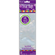 treat bags 3 x 10 clear treat bags 50 pack walmart