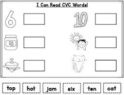 november cvc words word work for kinder and first grade tpt