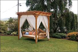Swing Bed With Canopy Replace A Canopy Swing Outdoor Bed U2014 Outdoor Furniture