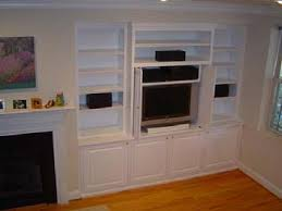 built in living room cabinets custom cabinets built ins and bookcases for northern virginia
