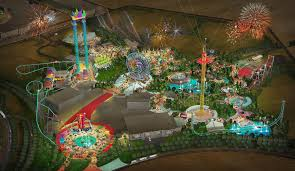 Six Flags Grand Prairie Thrill Park Coming To Dubai Parks And Resorts Business Wire