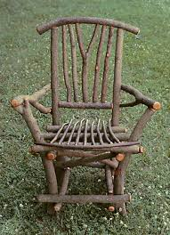 Ladderback Chair  Rustic Patio Furniture  Willow Chairs - Bend furniture