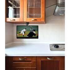 under cabinet tv mount swivel under cabinet tv for kitchen s under cabinet tv mount swivel tv