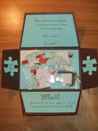faire part mariage puzzle faire part naissance maël sandrinescrap