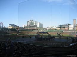 Chicago Cubs Seat Map by Wrigley Field Section 120 Chicago Cubs Rateyourseats Com