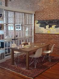 Dining Room Divider by 50 Bold And Inventive Dining Rooms With Brick Walls