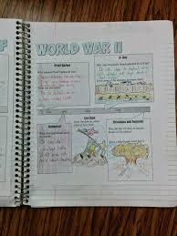 students of history interactive notebook pages for the great