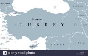 ankara on world map turkey political map with capital ankara national borders and