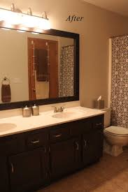dark brown bathroom wall cabinet with cabinets polished wooden